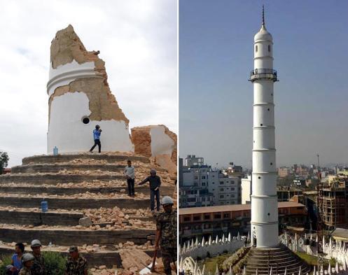 Terremoto in Nepal, quando un incubo incontra la realtà.