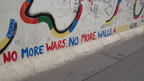 No more walls.