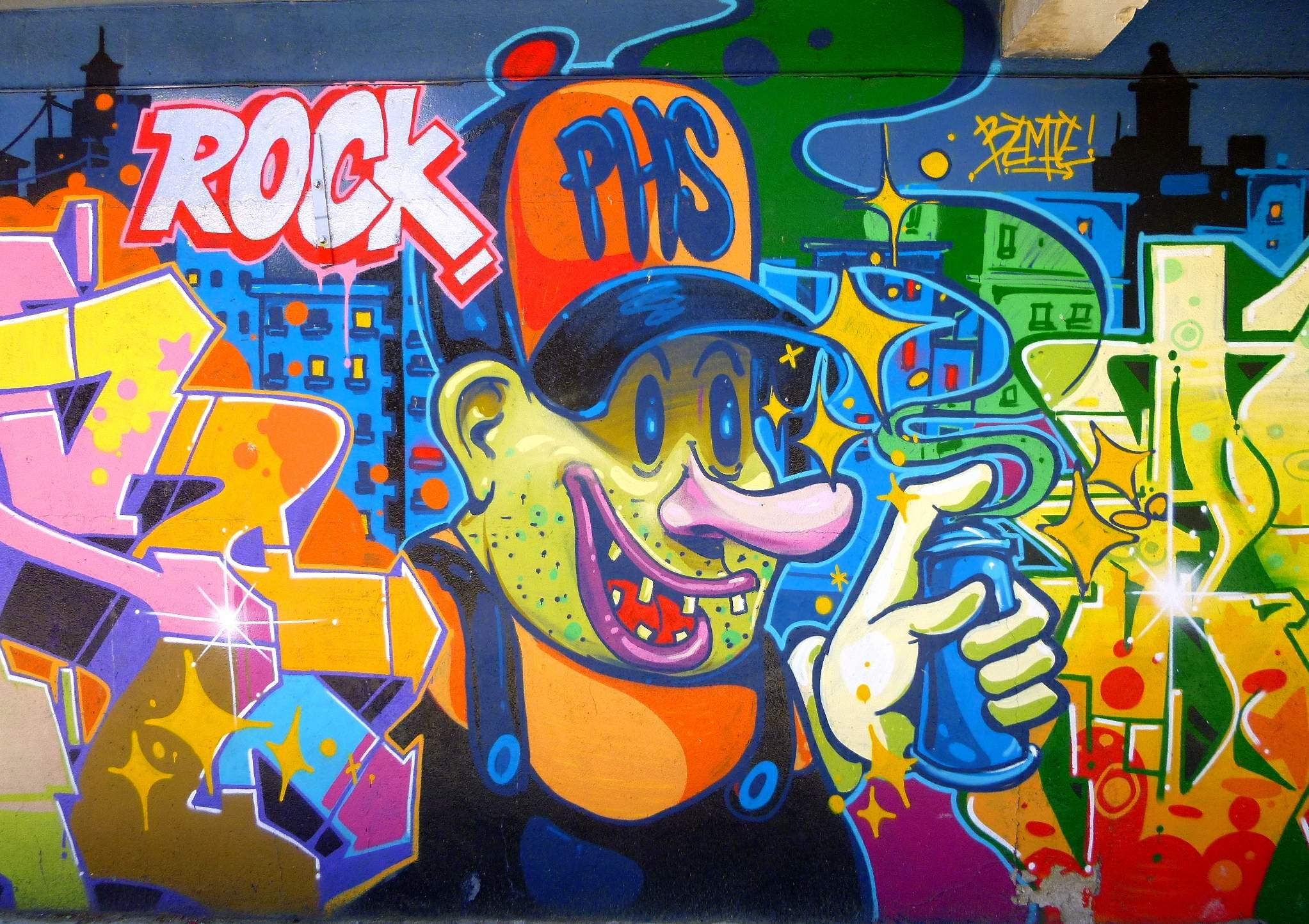 Graffiti Arte O Vandalismo Il Quotidiano In Classe