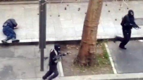 L'attentato terroristico di Parigi.