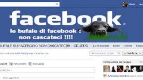 Le bufale su Facebook!