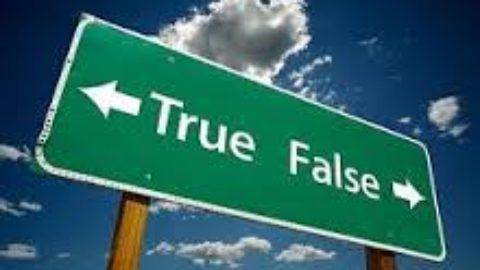 FALSE  NOTIZIE