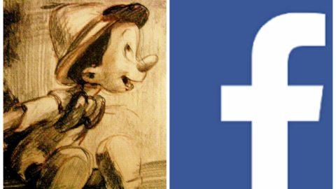 Facebook, tana di bugie