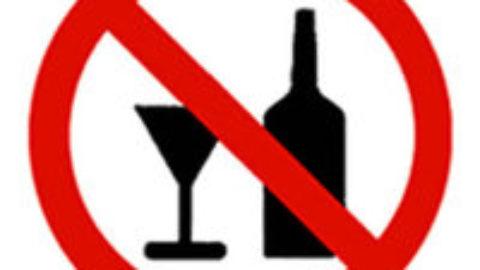 No all'alcool per il divertimento!