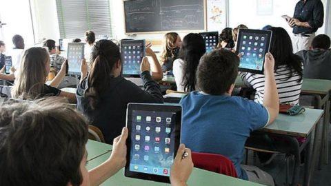 Utilizzo di smartphone e tablet a scuola