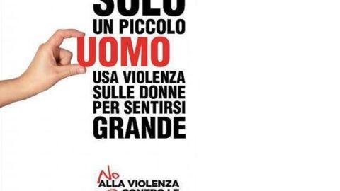 NO ALLA VIOLENZA SULLE DONNE.