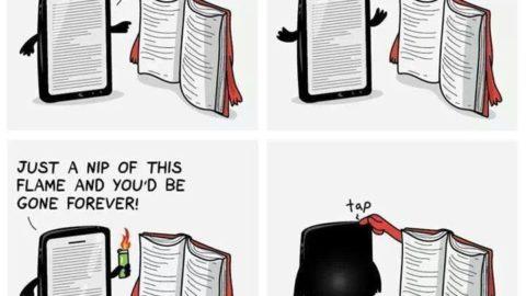 e-book VS book