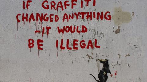 """Street art"" l'arte del 21 secolo"