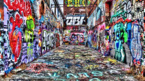 Graffiti e murales: ARTE