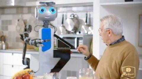 Nuova innovazione:ROBOT-BADANTE!