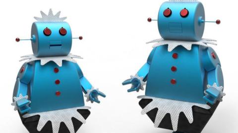Non tutti i robot sono le cameriere dei cartoni.