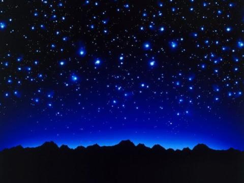 Guardo le stelle e penso a te