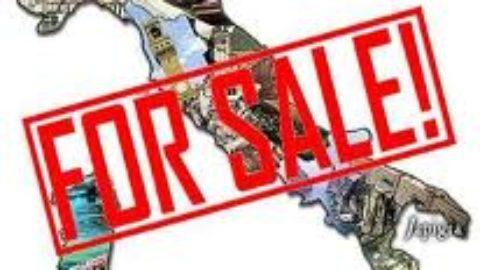 Italia in vendita: non lo vogliamo