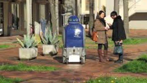 Robot o badanti?