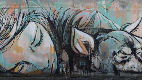 I GRAFFITI  E I MURALES UNA NUOVA CORRENTE ARTISTICA?
