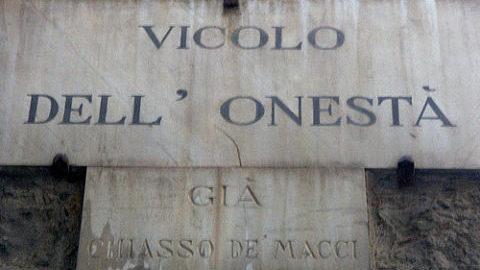 Onestà e generosità : valori dimenticati?