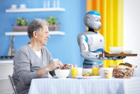 Un robot come badante
