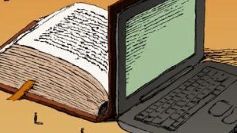 I libri o il cellulare?