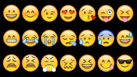 Gli uomini: emoticon o parole?