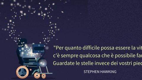 STEPHAN HAWKING, IL GENIO DELL' UNIVERSO