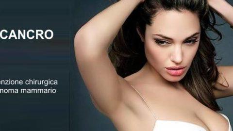 Angelina Jolie contro il cancro al seno. Un modello per tutte le donne.