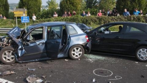 Aumento degli incidenti stradali