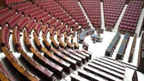 camera dei deputati deserta per il decreto sisma
