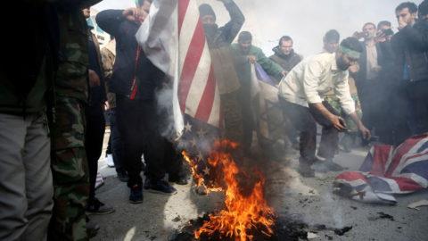 Studenti iraniani in subbuglio.