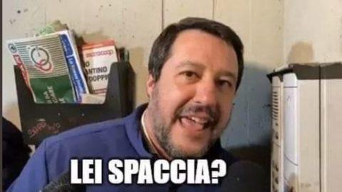Salvini e l'approccio
