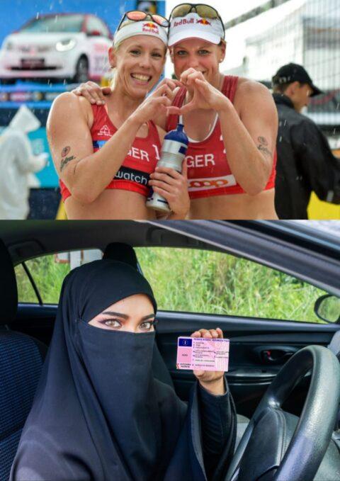 Arabia Saudita. Donna al volante: libertà avanzante / Donna in bikini: manifestazione e quattrini